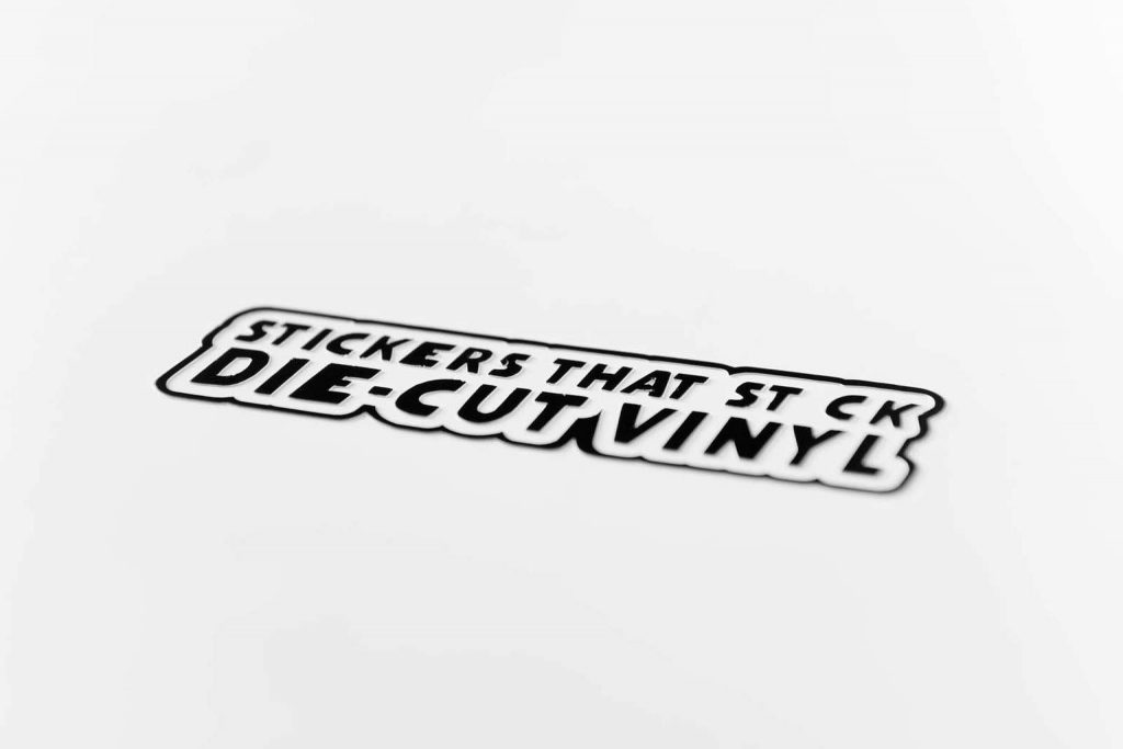 Uitgesneden stickers