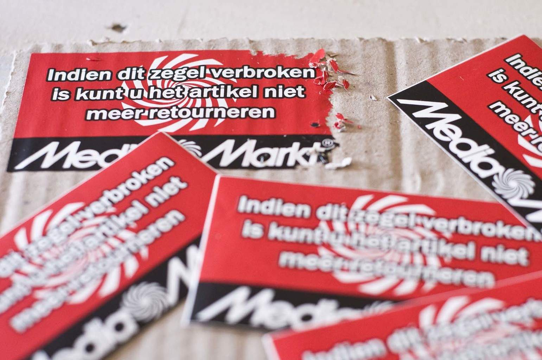 Garantie Stickers