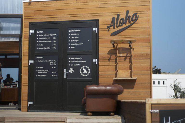 Matte Stickers Surfclub Aloha