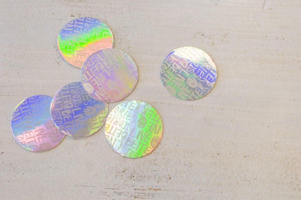 Hologram Stickers bedrukken
